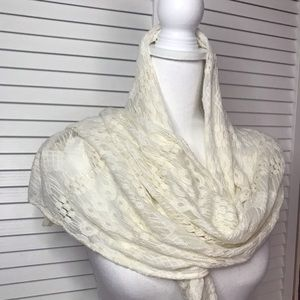 Maurices lace  scarf